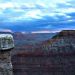 Sunrise at Mather Point in the Grand Canyon