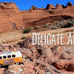 Delicate Arch Overlooks in Arches National Park