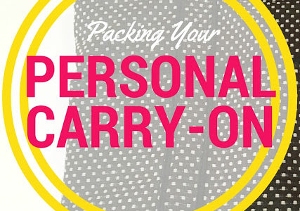Packing Your Personal Carry-On