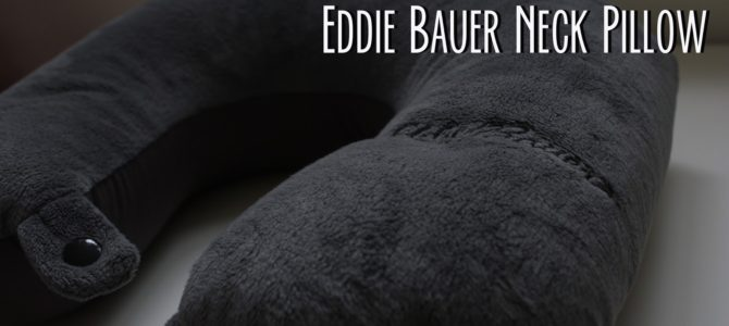 Eddie Bauer Travel Pillow Review