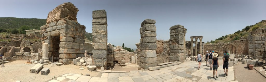 Visiting Ephesus, Turkey