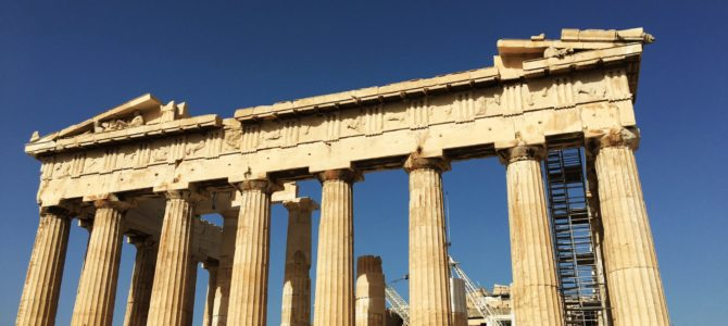 Visiting the Parthenon at the Acropolis