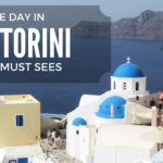 A Day on the Island of Santorini