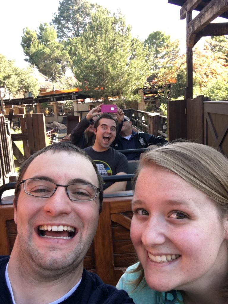 Ridingo on Big Thunder Mountain