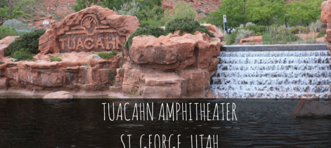 Tuacahn Amphitheater in St. George, Utah