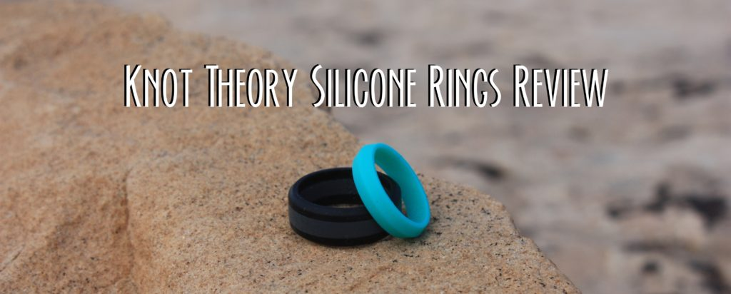 Title card showing two Knot Theory Silicone Rings