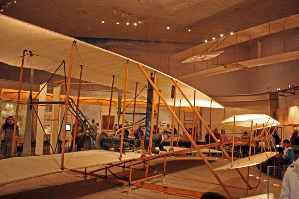 The original Wright Brothers 1903 flyer