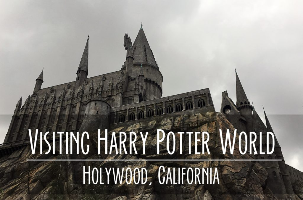 Going To Harry Potter World At Universal Studios In
