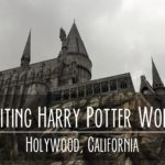 Going to Harry Potter World at Universal Studios in California