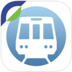 Washington D.C. Metro Map Icon