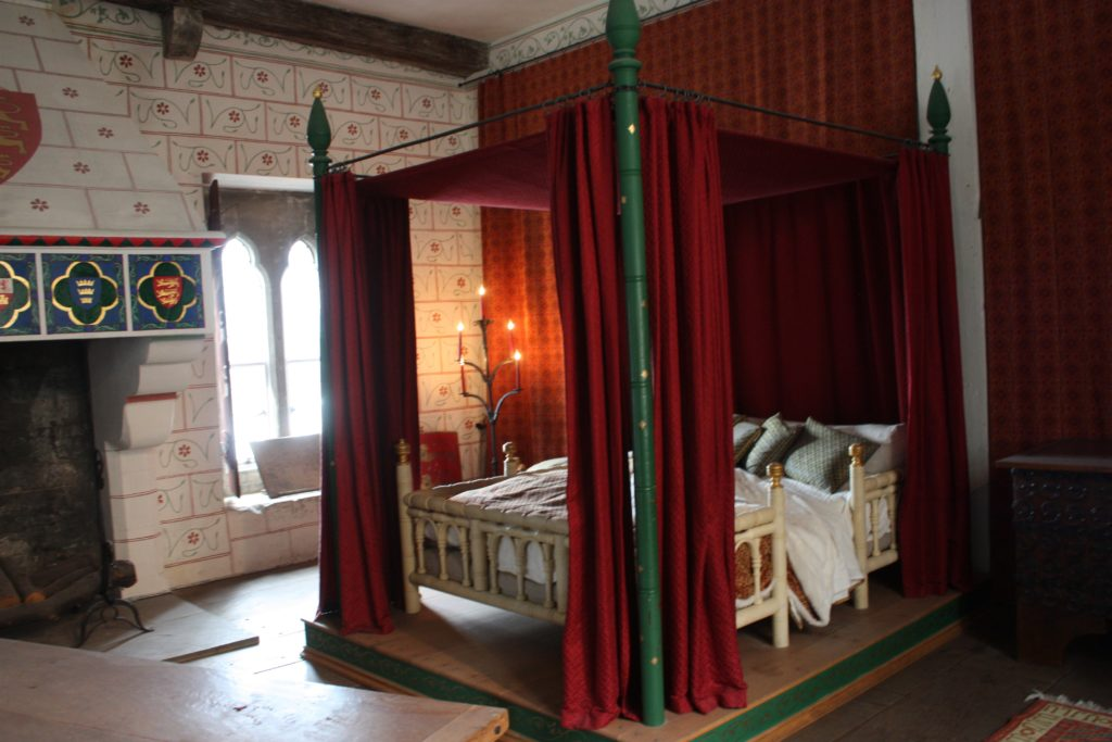 Royal bedroom at the Tower of London
