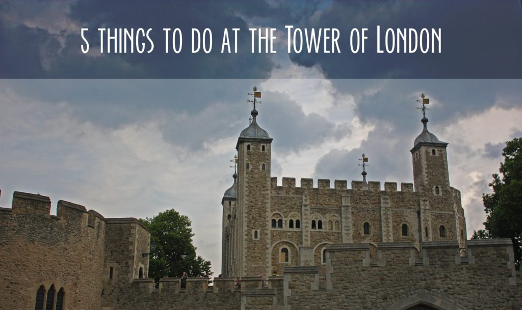 Title card showing White Tower