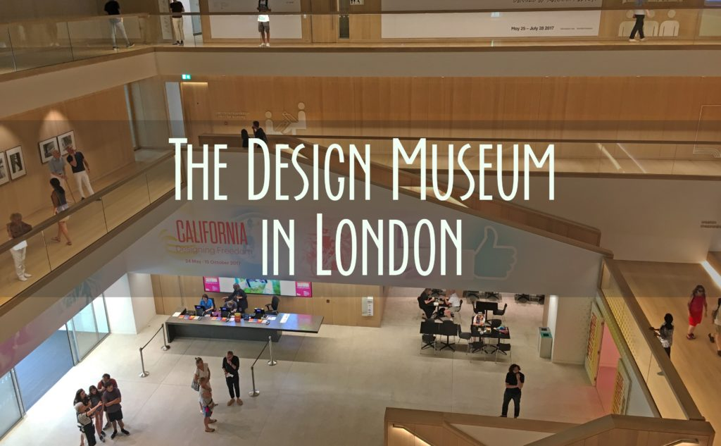 """a title card that says """"The Design Museum in London"""""""