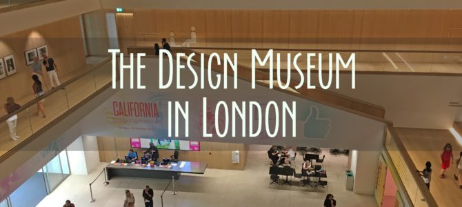 3 Things We Saw at the Design Museum in London