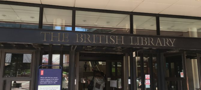 Visiting the Treasure Room at the British Library