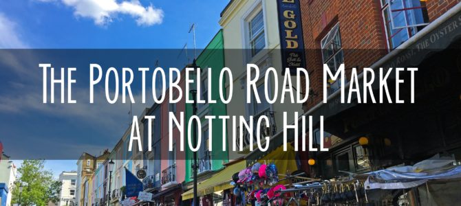 Portobello Road Market at Notting Hill