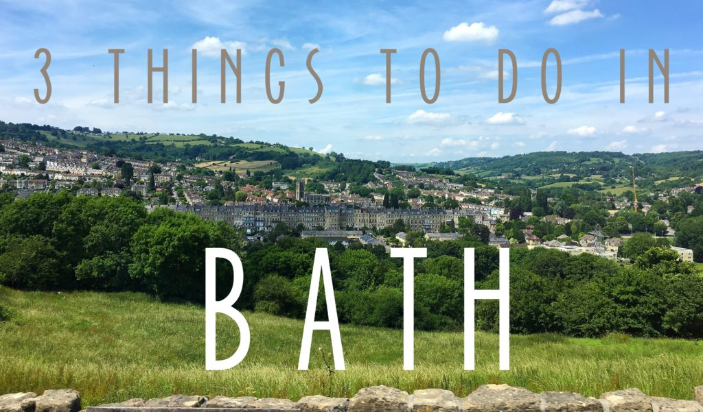 Title Card 3 Things to do in Bath