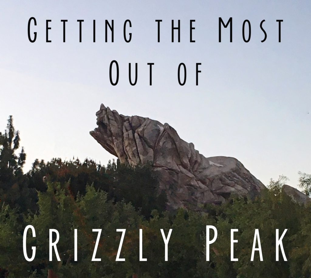 "Title Card with picture of Grizzly Peak and the words ""Getting the Most Out of Grizzly Peak"""