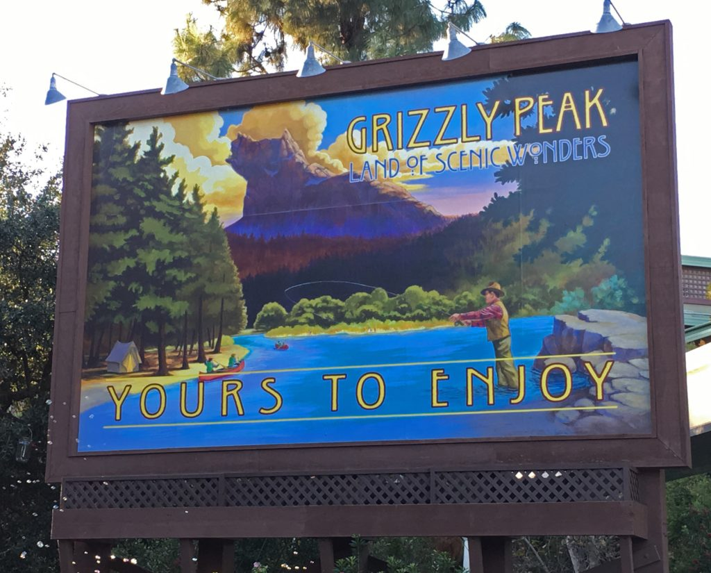 Travel Billboard for Grizzly Peak
