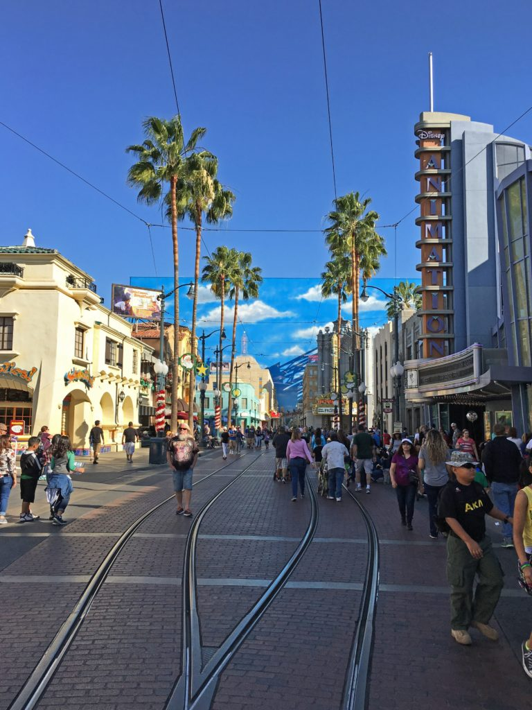 Buena Vista Street in Hollywood Land