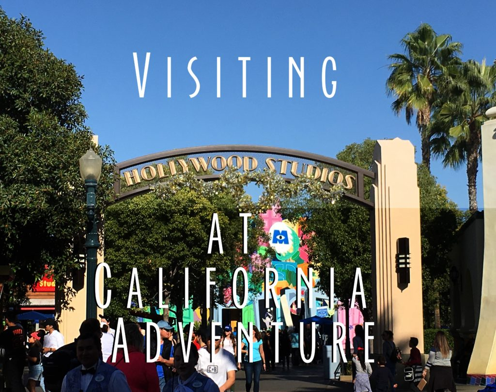 "Title card that says ""Visiting Hollywood Studios"""