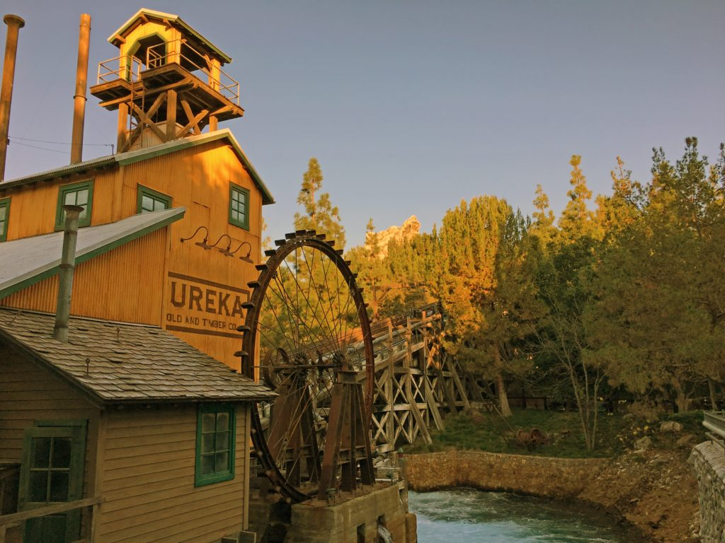 The water wheel at grizzly river run