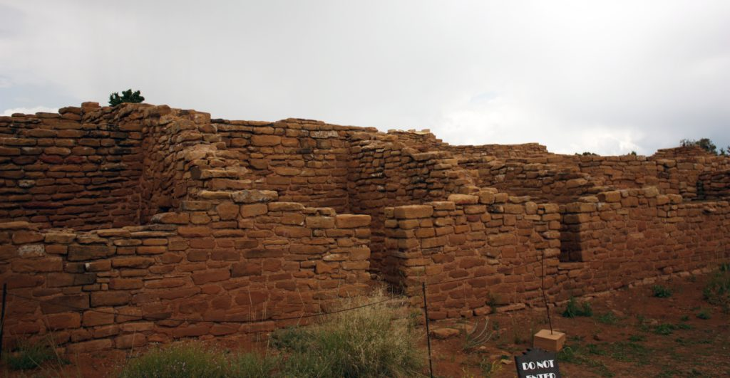 Large surface dwelling at Far View for Mesa Verde National Park