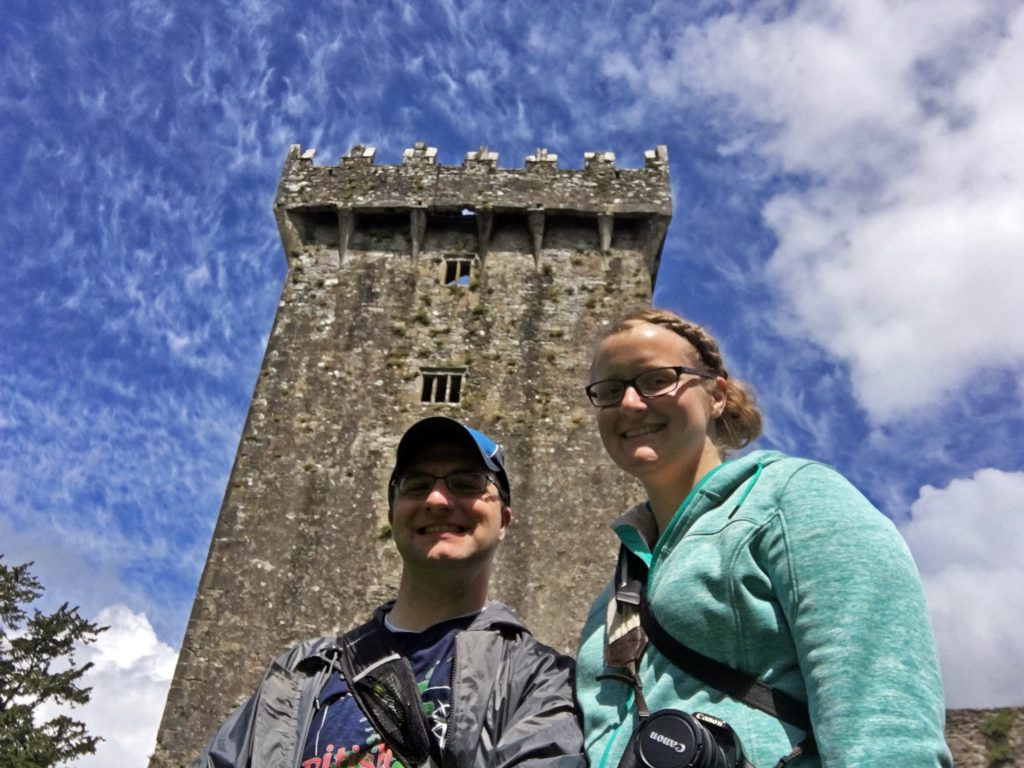 Ben and Meagan at Blarney Castle