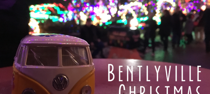 Bentleyville Christmas Lights in Duluth, Minnesota
