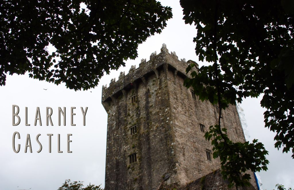 title card showing Blarney Castle