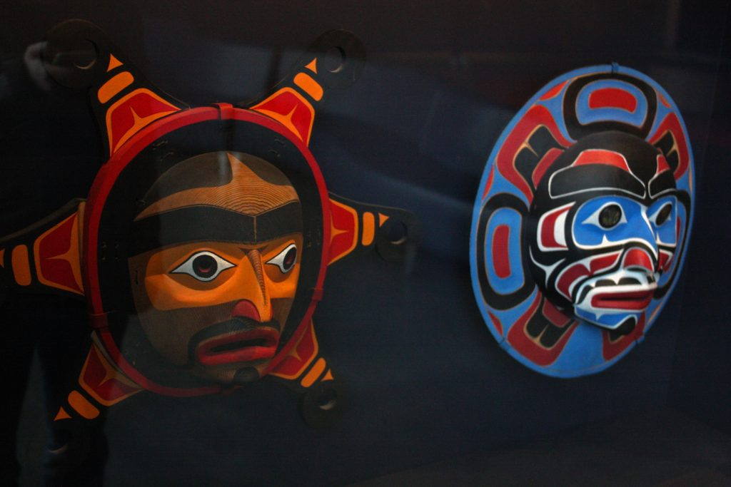 Sun and Moon masks