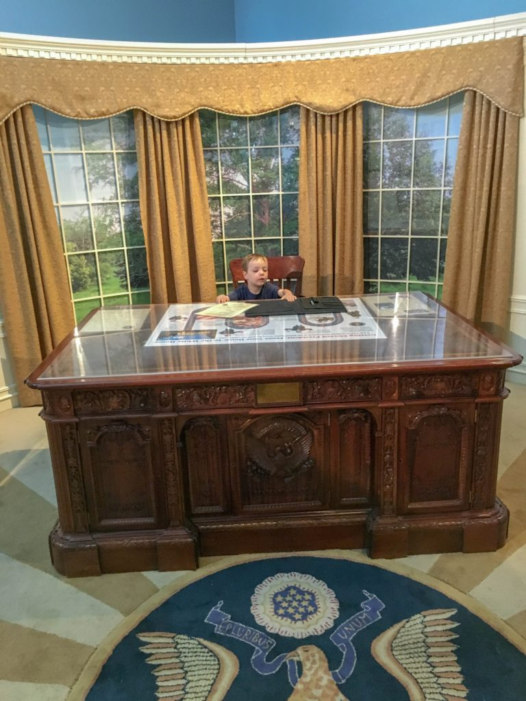 Oval Office at Treehouse Museum