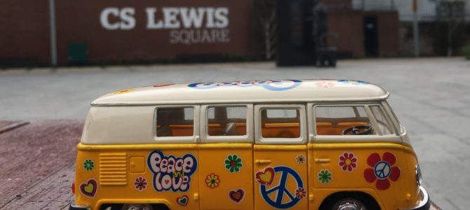 See C. S. Lewis Square in Belfast, Northern Ireland