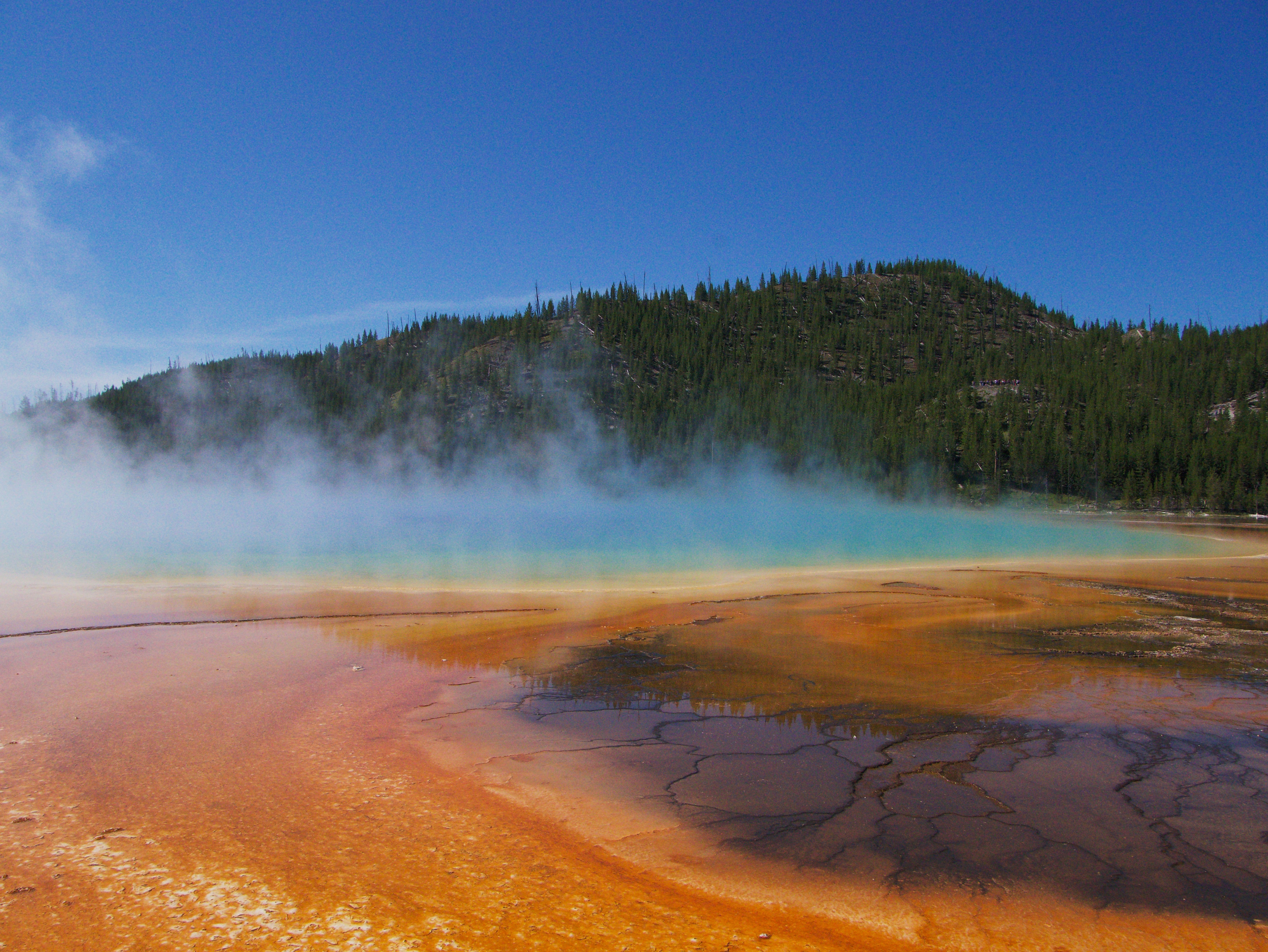Grand Prismatic Spring, Yellowstone National Park, WY [OC
